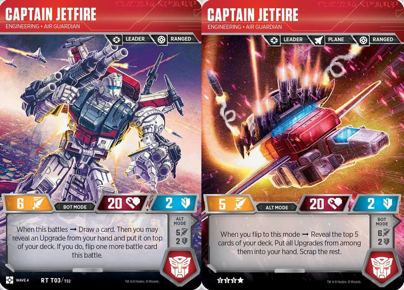 Captain Jetfire // Engineering Air Guardian