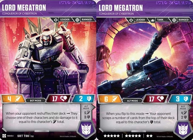 Lord Megatron // Conqueror of Cyberton