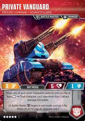 Private Vanguard // Ground Command Advance Guard