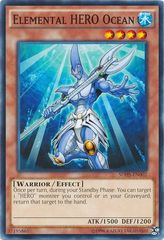 Elemental HERO Ocean - SDHS-EN002 - Common - Unlimited Edition