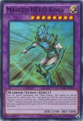 Masked HERO Koga - SDHS-EN042 - Super Rare - Unlimited Edition