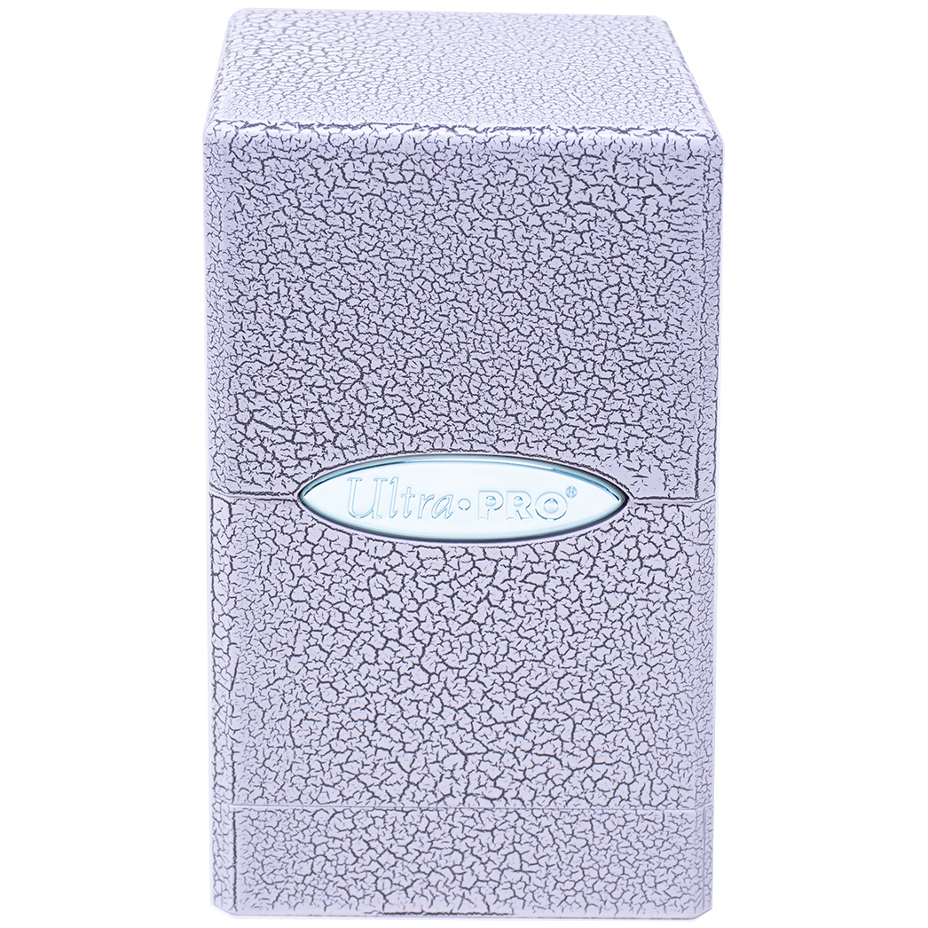 Ultra Pro - Ivory Crackle Satin Tower