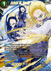 Android 18, Speedy Substitution - BT8-033 - SPR