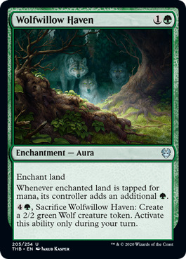 Wolfwillow Haven - Foil