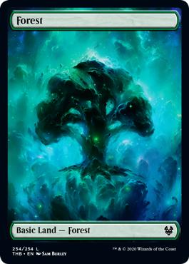 Forest (254) - FULL ART