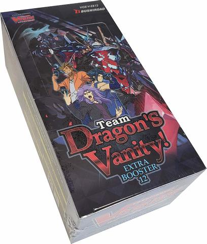 V Extra Booster 12: Team Dragons Vanity Booster Box