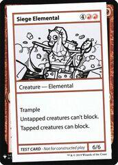 Siege Elemental