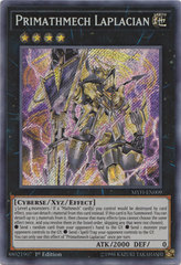 Primathmech Laplacian - MYFI-EN009 - Secret Rare - 1st Edition
