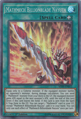 Mathmech Billionblade Nayuta - MYFI-EN011 - Super Rare - 1st Edition on Channel Fireball