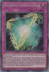Mathmech Superfactorial - MYFI-EN012 - Secret Rare - 1st Edition
