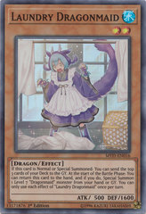 Laundry Dragonmaid - MYFI-EN016 - Super Rare - 1st Edition
