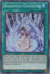 Dragonmaid Changeover - MYFI-EN025 - Super Rare - 1st Edition on Channel Fireball