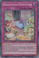 Dragonmaid Downtime - MYFI-EN026 - Super Rare - 1st Edition on Channel Fireball