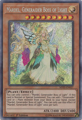 Mardel, Generaider Boss of Light - MYFI-EN027 - Secret Rare - 1st Edition on Channel Fireball