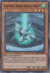 Lightning, Dragon Ruler of Drafts - MYFI-EN046 - Super Rare - 1st Edition