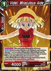 Videl, Miraculous Aide - BT8-010 - UC - Pre-release (Malicious Machinations)