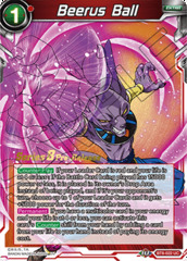 Beerus Ball - BT8-022 - UC - Pre-release (Malicious Machinations)