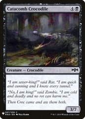 Catacomb Crocodile