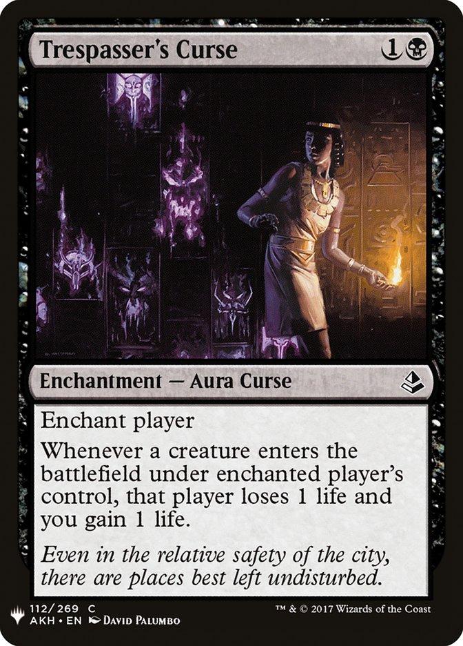 Trespassers Curse