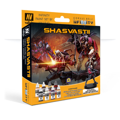 Model Color Set: Infinity Shasvastii with Exclusive Miniature