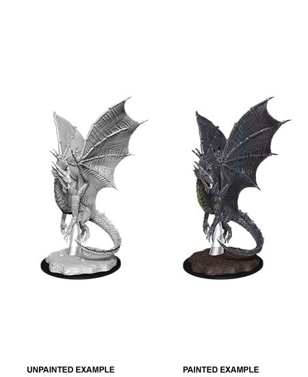 Nolzurs Marvelous Miniatures - Young Silver Dragon