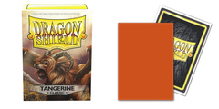 Dragon Shield Sleeves: Tangerine Classic (Box of 100)