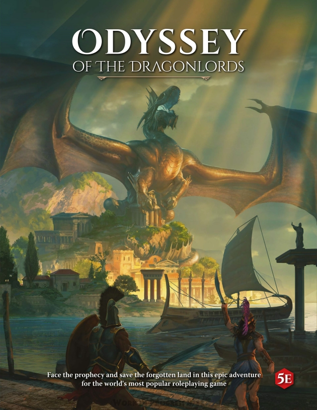 5E Odyssey of the Dragonlords Campaign Book HC