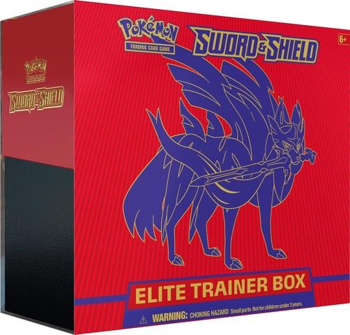Sword & Shield - Base Set Elite Trainer Box - Zacian