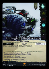 Foresight of the Ancients
