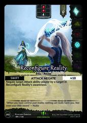 Reconfigure Reality