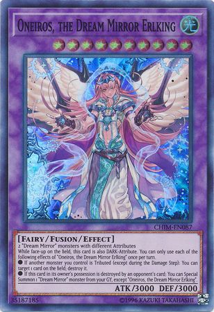 Oneiros, the Dream Mirror Erlking - CHIM-EN087 - Super Rare - Unlimited Edition