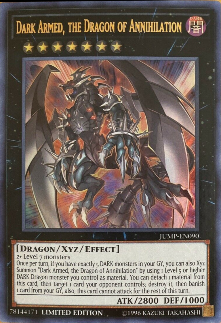 Dark Armed, The Dragon of Annihilation - JUMP-EN090 - Ultra Rare - Limited Edition
