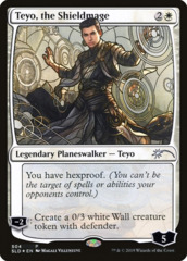 Teyo, the Shieldmage - Foil