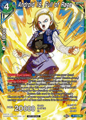 Android 18, Full of Rage - P-172 - PR - Foil