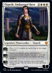 Elspeth, Undaunted Hero - Foil - Planeswalker Deck Exclusive