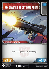 Ion Blaster of Optimus Prime (Energon Edition)