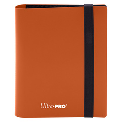 Ultra Pro - 2-Pocket Eclipse Pumpkin Orange PRO-Binder