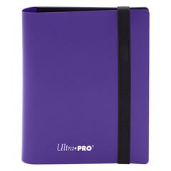 Ultra Pro - 2-Pocket Eclipse Royal Purple PRO-Binder