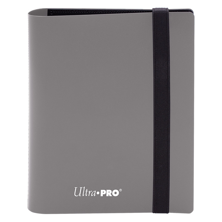 Ultra Pro - 2-Pocket Eclipse Smokey Grey PRO-Binder