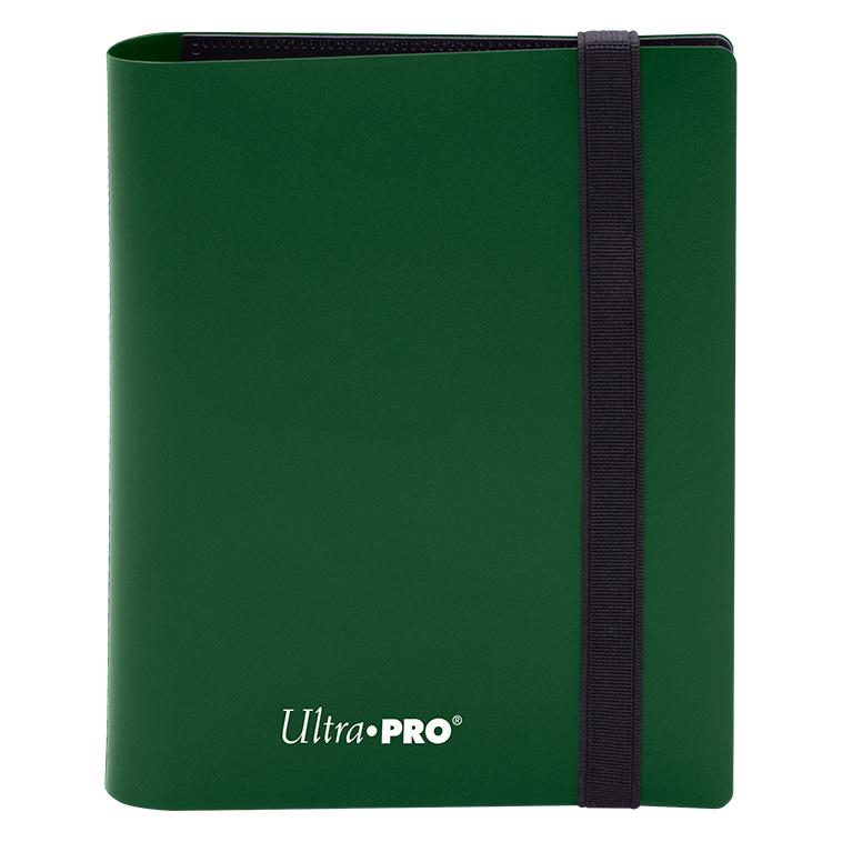 Ultra Pro - 4-Pocket Eclipse Forest Green PRO-Binder