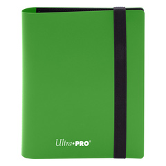 Ultra Pro - 4-Pocket Eclipse Lime Green PRO-Binder