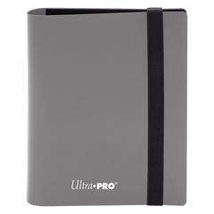 Ultra Pro - 4-Pocket Eclipse Smokey Grey PRO-Binder