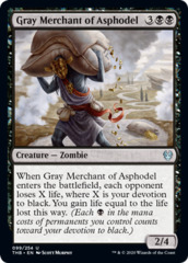 Gray Merchant of Asphodel - Foil