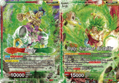 Broly // Broly, Surge of Brutality - P-181 - PR