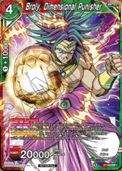 Broly, Dimensional Punisher - P-182 - PR