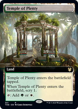 Temple of Plenty - Extended Art