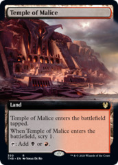 Temple of Malice - Foil - Extended Art