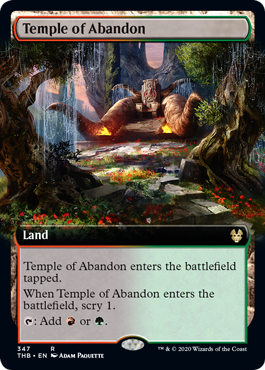 Temple of Abandon - Extended Art