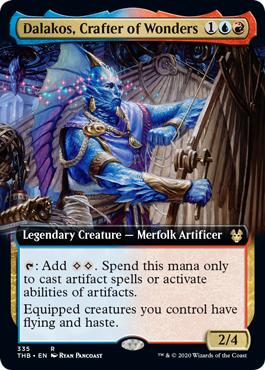 Dalakos, Crafter of Wonders - Extended Art
