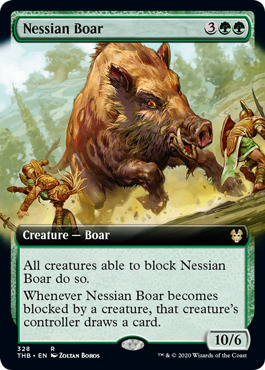 Nessian Boar - Extended Art